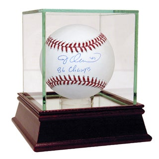 "Jesse Orosco Signed MLB Baseball w/ ""86 Champs"" Insc"