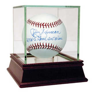 "Jerry Koosman Signed MLB Baseball w/ ""'69 WS Games 2+5 Wins"" Insc"