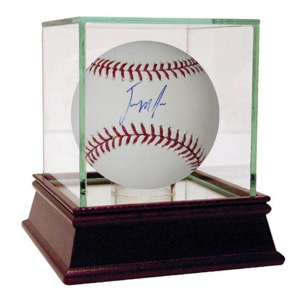 Jenrry Mejia Signed MLB Baseball (MLB Auth)
