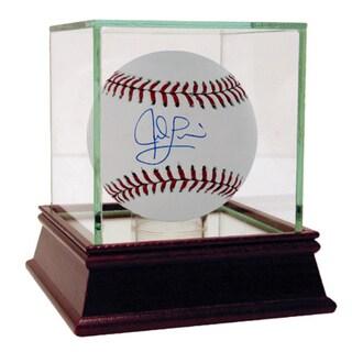 Jed Lowrie MLB Baseball (MLB Auth)
