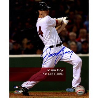 Jason Bay #44 Red Sox 'Feel The Game' 8x10 Photo