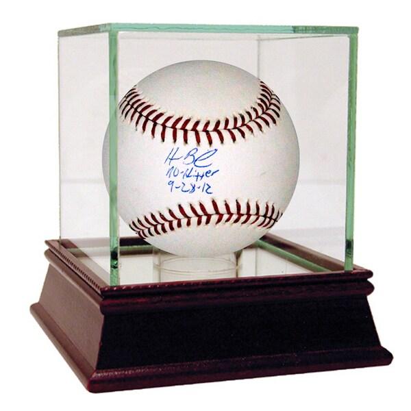 "Homer Bailey Signed MLB Baseball w/ ""No Hitter 9-28-12"" Insc (MLB Auth)"