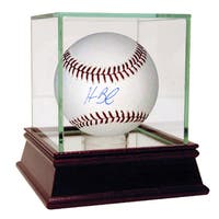 Homer Bailey Signed MLB Baseball (MLB Auth)