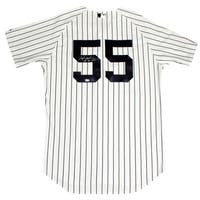 """Hideki Matsui Signed New York Yankees 2009 WS Patch Pinstripe Jersey Signed On Back w/ """"09 WS MVP"""" insc (MLB Auth)"""