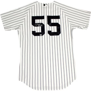 Hideki Matsui Signed New York Yankees Pinstripe Jersey Signed On Back w/ Godzilla insc (MLB Auth)