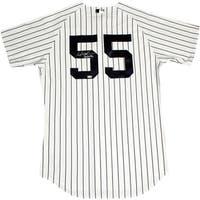 "Hideki Matsui Signed New York Yankees Pinstripe Jersey Signed On Back w/ Godzilla"" insc (MLB Auth)"