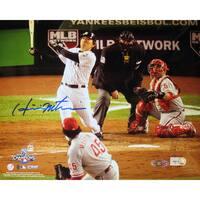 Hideki Matsui 2009 WS Home Run Horizontal 8x10 Photo (MLB Auth)