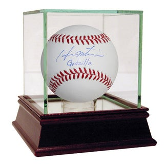 "Hideki Matsui MLB Baseball w/ ""Godzilla"" insc (MLB Auth)"