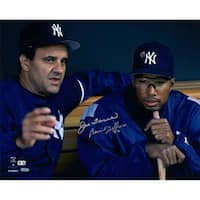 "Bernie Williams & Joe Torre Dual Signed 16x20 ""Dugout"" Photo (MLB Auth)"
