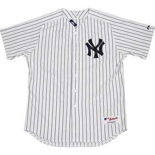 Majestic Authentic New York Yankees White Home Jersey (XXL) - Bulk, Size 52