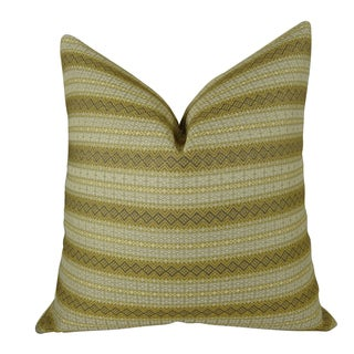 Plutus Full Stripe Handmade Double-sided Throw Pillow