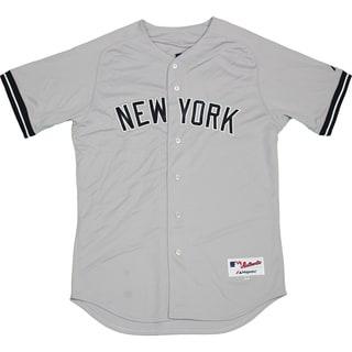 Majestic Authentic New York Yankees Gray Away Jersey (XL) - Bulk, Size 48