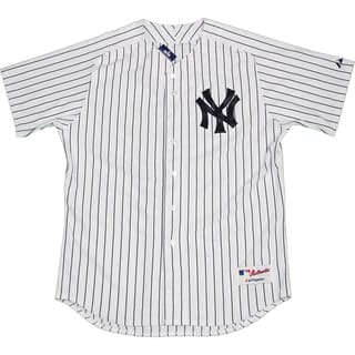 Majestic Authentic New York Yankees White Home Jersey (XL) - Bulk, Size 48