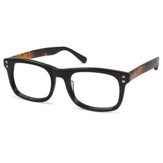 Cynthia Rowley Eyewear CR6015 No. 99 Black Round Plastic Eyeglasses