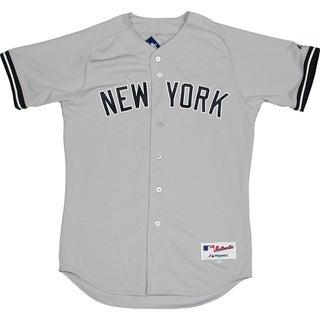 Majestic Authentic New York Yankees Gray Away Jersey (L) - Bulk, Size 44