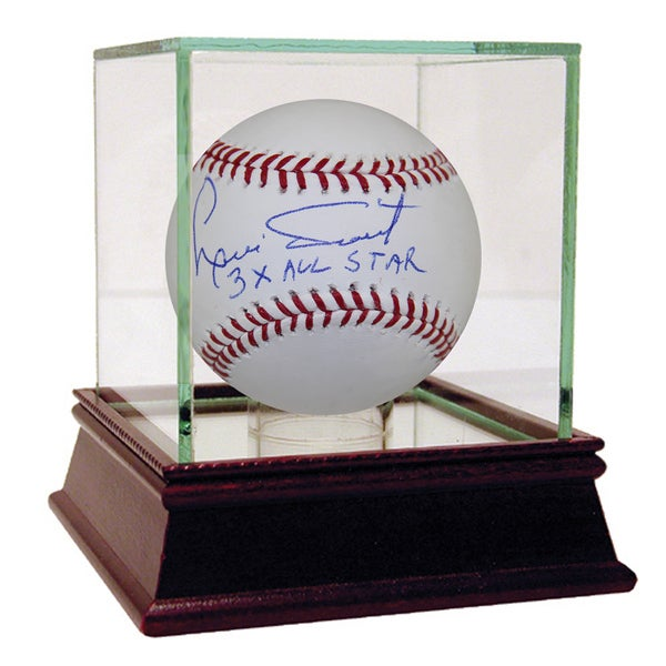 "Luis Tiant Autographed Baseball w/ ""3x All-Star"" Inscription"