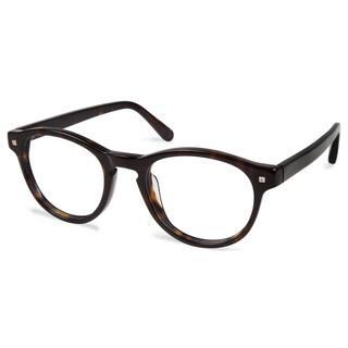 7510b326ae Cynthia Rowley Eyewear CR5009 No. 39 Tortoise Round Plastic Eyeglasses