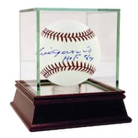 Luis Aparicio MLB Baseball with HOF Inscription