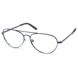 Cynthia Rowley Eyewear CR5005 No. 86 Black/Navy Aviator Metal Eyeglasses