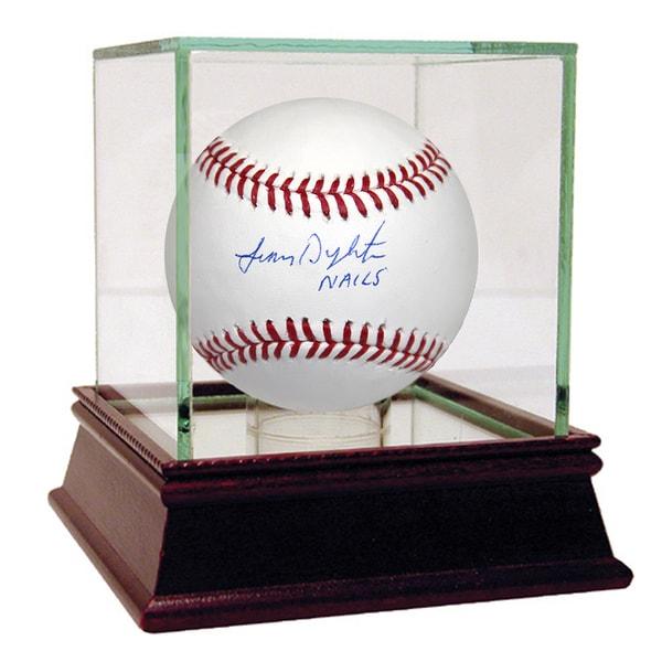 Lenny Dykstra MLB Baseball w/ Nails Inscription