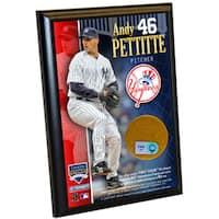 Andy Pettitte Yankees 4x6 Dirt Plaque