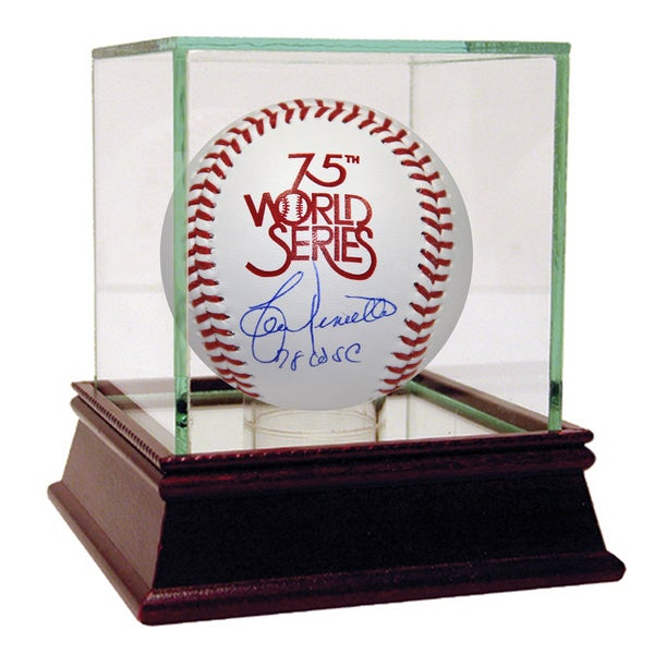 Lou Piniella Signed 1978 World Series Baseball w/ 78 W.S Champs insc.