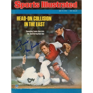 "Lou Piniella 5/31/76 Sports Illustrated Magazine w/ ""Sweet"" Insc"