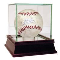 Kevin Youkilis Signed Game Used Baseball
