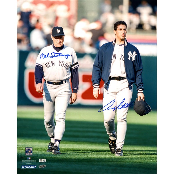 Andy Pettitte & Mel Stottlemyre Dual Signed 16x20 Photo