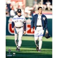 Andy Pettitte & Mel Stottlemyre Dual Signed 16x20 Photo