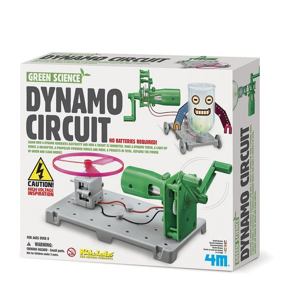 4M KidzLabs Dynamo Circuit Maker Science Kit
