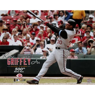 Ken Griffey Jr. Reds 500th HR 16X20 uns