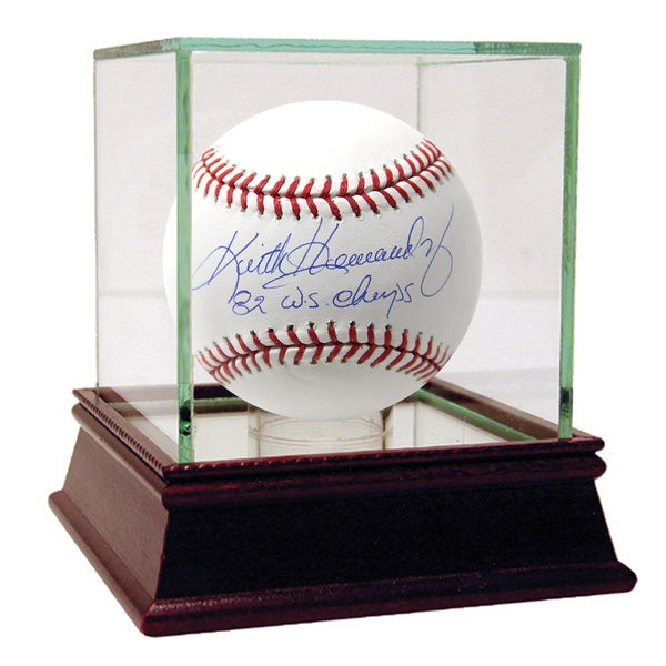 "Keith Hernandez Signed MLB Baseball w/ ""82 WS Champs"" Insc."