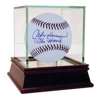 """Andre Dawson MLB Baseball w/ """"The Hawk"""" Insc. (MLB Auth)"""