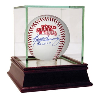"Keith Hernandez Signed 1986 World Series Baseball w/ ""86 WSC"" Insc (MLB Auth)"