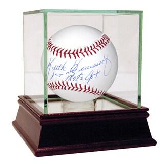 "Keith Hernandez MLB Baseball w/ ""1st Mets Captain"" Insc."