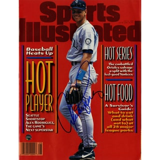 Alex Rodriguez Signed 7/8/96 Sports Illustrated Magazine