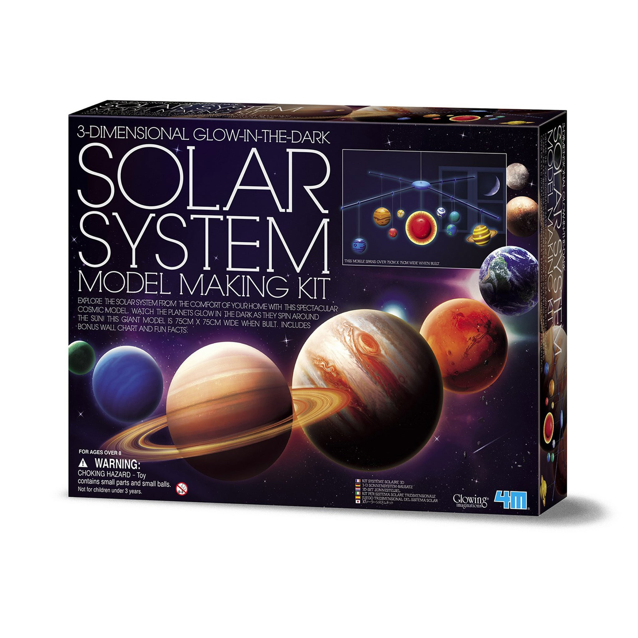 Baby Astronomy Solar Planet System Globe Mobile Hanging Model Sale Overall Discount 50-70% Antiques