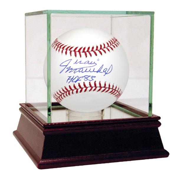 """Juan Marichal Signed MLB Baseball w/ """"HOF 83"""" Insc."""