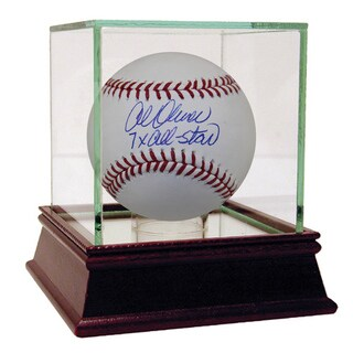 "Al Oliver Autographed Baseball w/ ""7x All-Star"" Inscription"