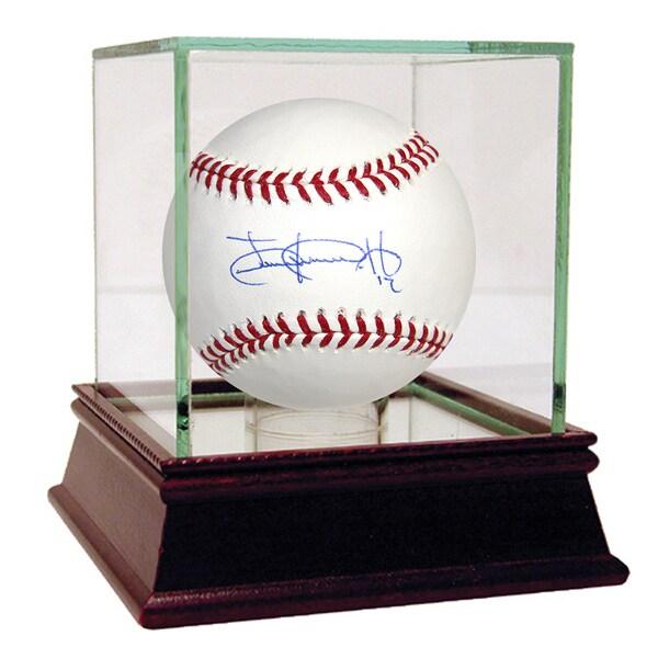 Juan Lagares Signed MLB Baseball (MLB Auth)