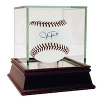Josh Tomlin Autographed MLB Baseball (MLB Auth)