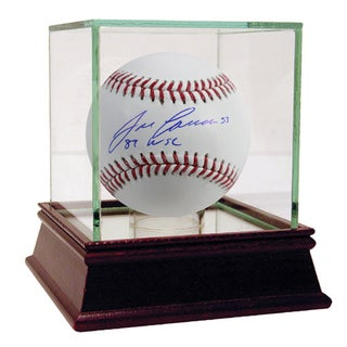 Jose Canseco Signed MLB Baseball w/ 89 WSC  Insc.