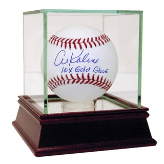 "Al Kaline Signed MLB Baseball w/ "" 10x G.G"" Insc. ( JSA Auth)"