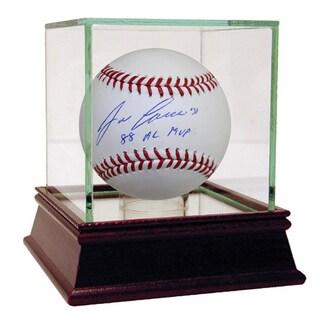 Jose Canseco Signed MLB Baseball w/ 88 AL MVP Insc.