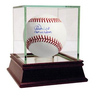 Adam Wainwright Signed Baseball 06/11 WS CHAMPS insc. ( MLB Auth)