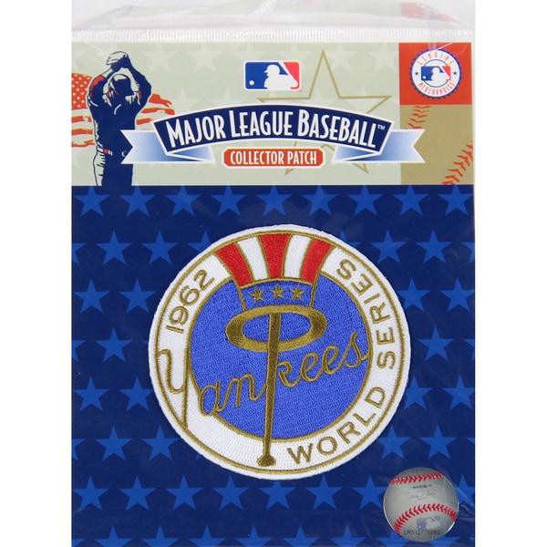 1962 World Series Patch-New York Yankees