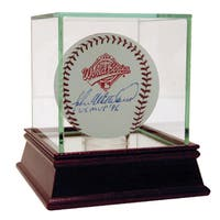 John Wetteland 1996 World Series Baseball w/ WS MVP 96  Insc