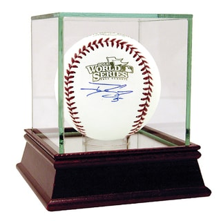 Jonny Gomes Signed 2013 World Series Baseball