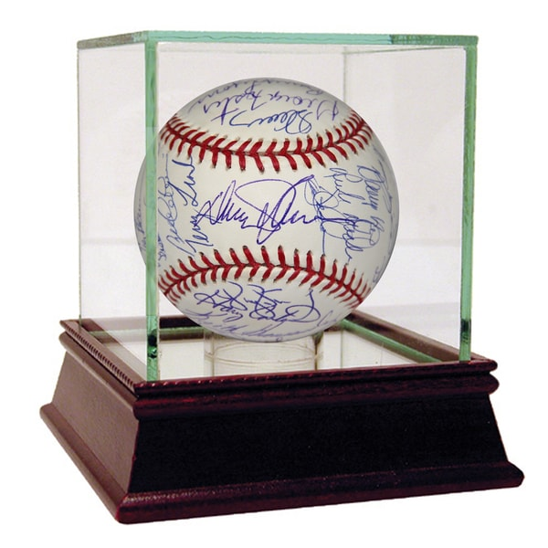 1986 New York Mets Team Signed MLB Baseball w/ Gary Carter (35 Signatures) (PSA/DNA)
